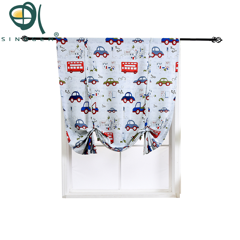 Hot Sale Sinogem Thermal Insulated Blackout Curtain Cars Design