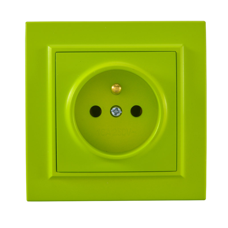 2019 Pop Socket Yellow Green  Euro Wall French Socket 250V 16A Power Supply Wall Mount Charger Decorative Socket legrand  livolo2019 Pop Socket Yellow Green  Euro Wall French Socket 250V 16A Power Supply Wall Mount Charger Decorative Socket legrand  livolo
