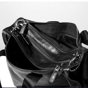 Image 4 - AETOO oryginalna skórzana torba męska przenośny neseser dorywczo wierzchnia warstwa ze skóry przekrój torba na ramię torba soft leath