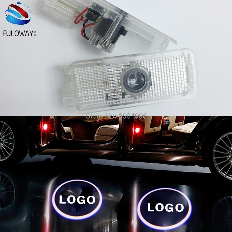 Pour PEUGEOT 508 408 1007 206 207 306 307 406 5008 LED Bienvenue De Porte de Voiture de Courtoisie Ombre Logo Lumières Projecteur Laser Fantôme ombre