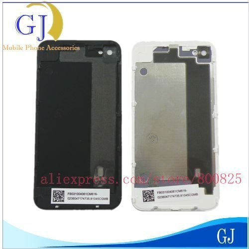20 pcs/lot Brand New 4G Back Cover , Free Shipping via Air Mail , Housing for iPhone 4 4G Glass Battery Cover Housing