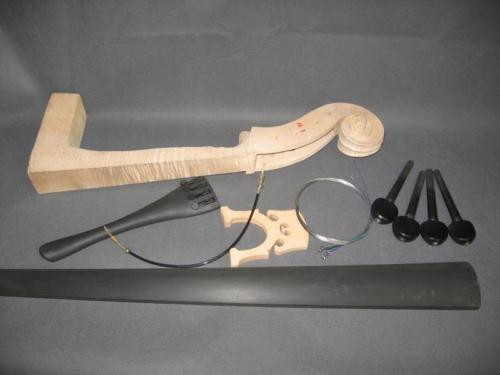 Sports & Entertainment Violin Parts & Accessories One Cello Part:neck,fingerboard,bridge Tailpiece..etc Goods Of Every Description Are Available