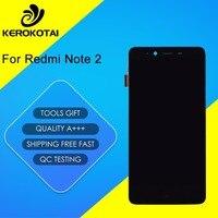 F Xiaomi Redmi Note 2 LCD Display Touch Screen Digitizer Full Assembly MI Hongmi Redmi Note