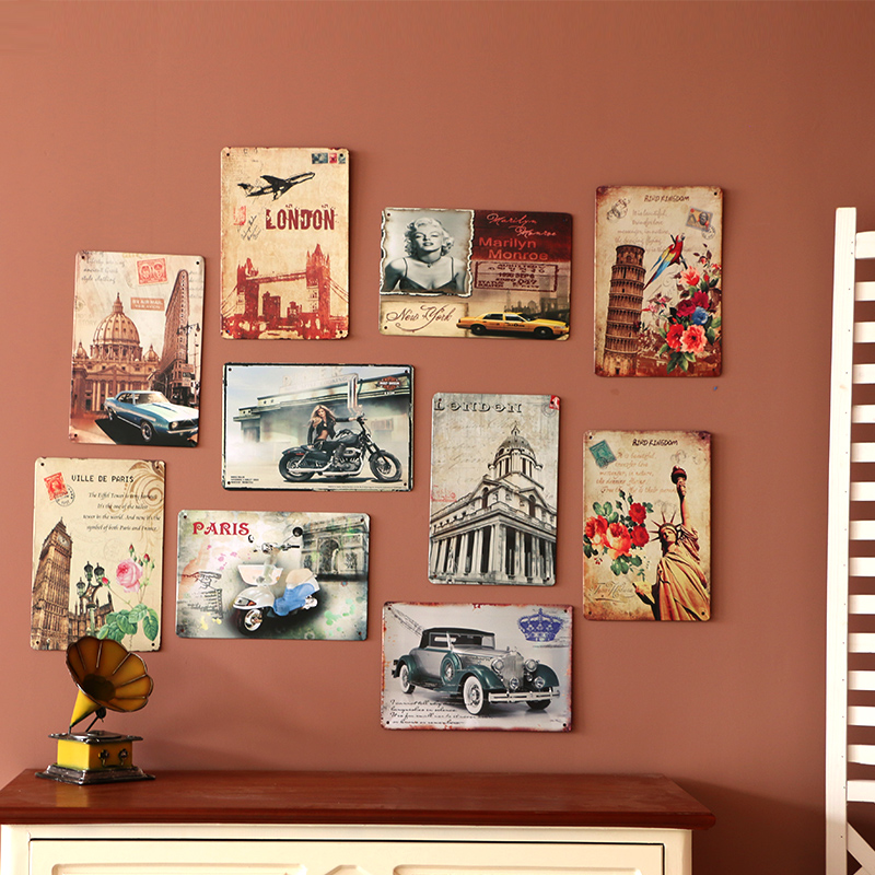 Popular round wall shelves buy cheap round wall shelves for Decor mural metal