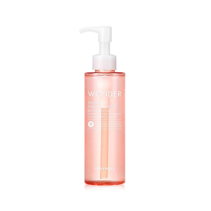 Best Korea Cosmetics Wonder Apricot Seed Deep Cleansing Oil 190ml Makeup Remover Deep Clean Eyes Lips Face Mild Clean