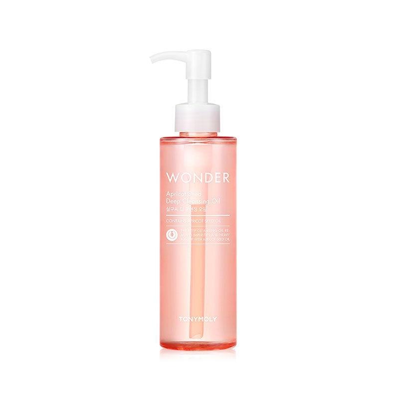 все цены на Best Korea Cosmetics Wonder Apricot Seed Deep Cleansing Oil 190ml Makeup Remover Deep Clean Eyes Lips Face Mild Clean онлайн