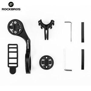 Image 5 - ROCKBROS 400LM luce per bici faro per bicicletta con supporto per montaggio IPX3 USB torcia ricaricabile per bici Combo supporto anteriore esterno