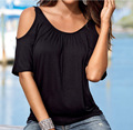 2016 Marca roupas de verão Solta t-shirt tee Strapless vestido Frete grátis