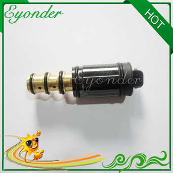 New Auto Air Conditioning Compressor Nippondenso 6SEU16C 7SEU16C Electric Control Valve Solenoid Valve for Lexus Mercedes Benz image