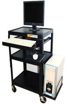 Projection cart Instrument cart Computer host medical equipment mobile cart Without cabinet