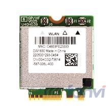 BCM943602BAED DW1830 אלחוטי AC BCM943602 NGFF M.2 1300Mbps 802.11ac WiFi Bluetooth BT4.1 רשת Wlan כרטיס תמיכת mac os