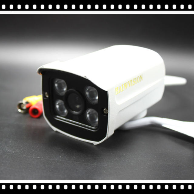 HD 1920*1080P AHD Cam 2MP Color Outdoor CCTV Surveillance Security 4ARRAY IR Day Night Video Camara de vigilancia