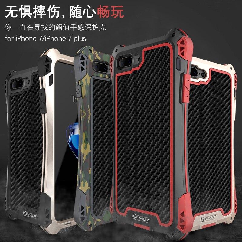 bilder für Neueste AMIRA Fall für iPhone 5 5 s Wasserdicht Stoßfest Kohlefaser + Metall + Gorilla Glas Anti-auswirkungen rüstung Mit Gehärtetem R-nur