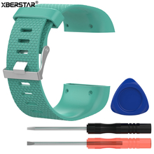 Replacement TPE Wrist band Watch Strap for Fitbit Surge Strap Watchbands GPS Heart Rate Monitor w