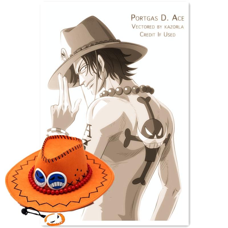 ONE PIECE Portgas D Ace Mera mera Fruit Cosplay Hats Props Models Commemorative Edition Fire Fist фигурка funko pop animation one piece portgas d ace 9 5 см