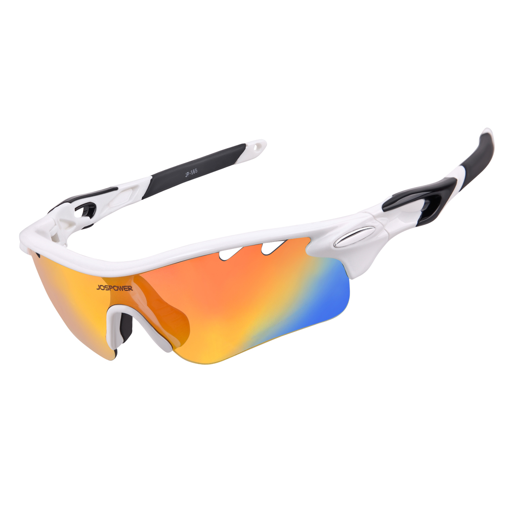 0b894e11c2a3 JOSPOWER Polarized Cycling Glasses TR90 UV400 Outdoor Sports Eyewear MTB  Bicycle Bike Fishing Sunglasses 5 Lens gafas ciclismo
