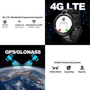 """Image 4 - Новый zeblaze Thor 4 Dual 4 г умные часы 5.0MP + 5.0MP двойная камера Android часы 1,4 """"AOMLED дисплей gps/ГЛОНАСС 16 Гб Смарт часы для мужчин"""