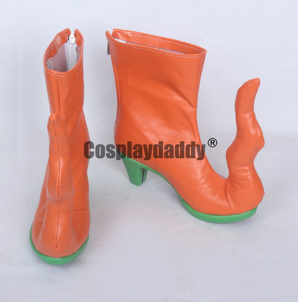 Fate Grand Order Bathory Erzsebet Halloween Gilrs Cosplay Shoes Short Boots S008