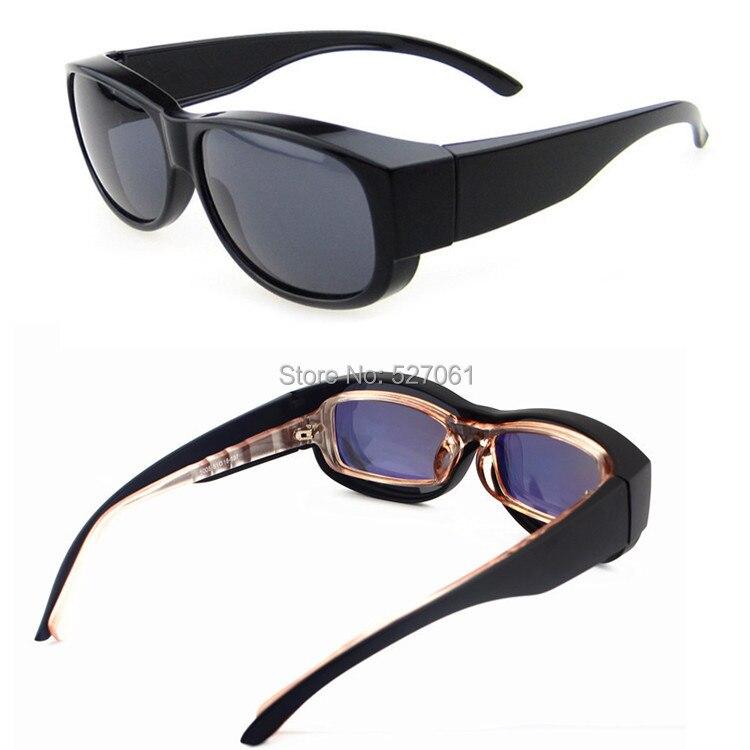 Sunglass Covers For Prescription  aliexpress com uni super black frame polarized sunglasses