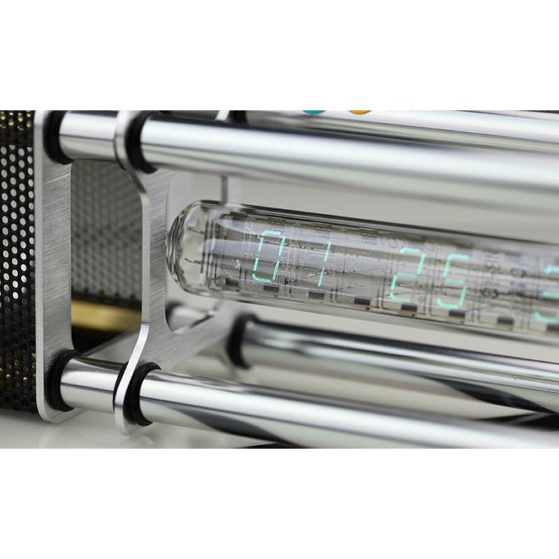 IV-18 Fluorescent Tube Clock Glow Clock Energy Pillar GPS timing receiver optional 4