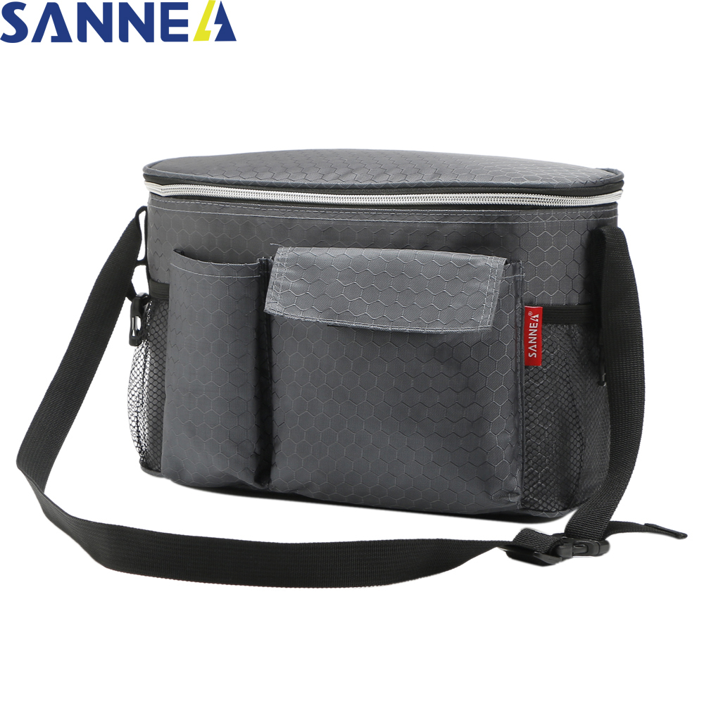 купить SANNE 8L Thermal Lunch Bags for Women Adults Men Food Lunch Picnic Cooler Bag Insulated Storage Container Bag CL1521 по цене 1538.73 рублей