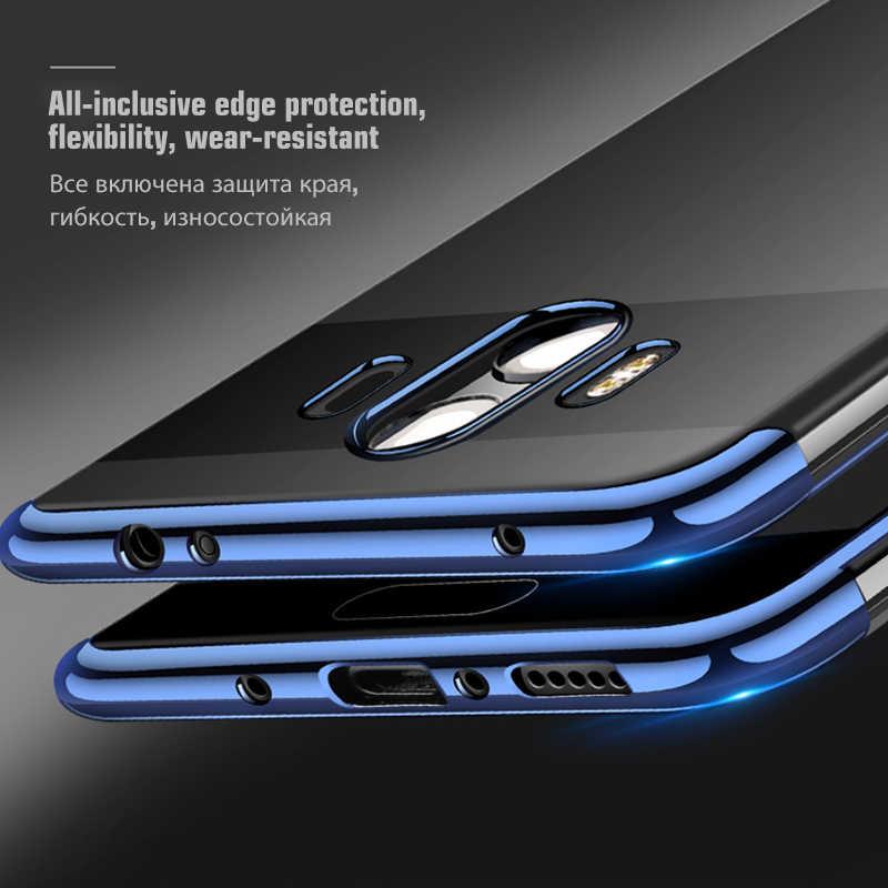 Покрытие мягкий чехол TPU для huawei Honor 8X Max 8C 7A 7C 6C Pro 10 8 9 Lite силиконовый прозрачный чехол для Honor 9 7X V10 V9 играть Капа