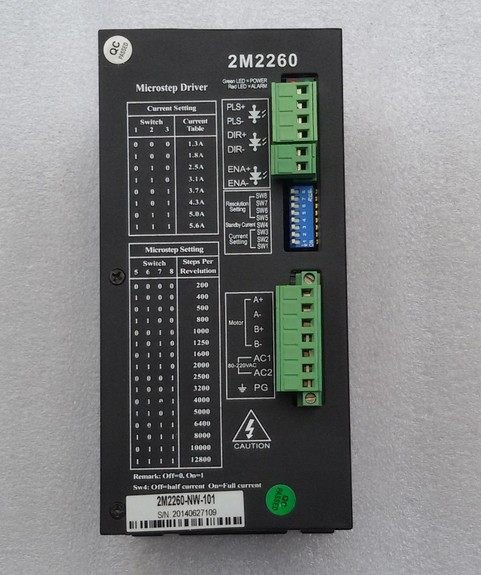 2pcs/lot 2M2260 Nema34 42 51 2-phase AC stepper motor driver 220V stepper driver 2pcs lot cx20585 11z audio driver