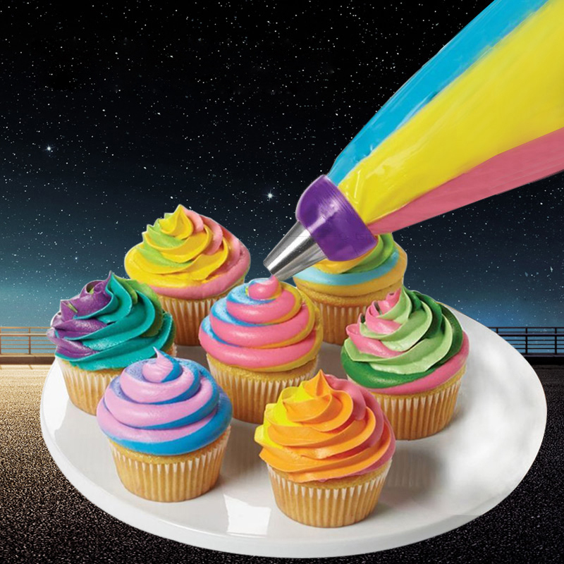 Color Cake Decorating Tools Icing Piping