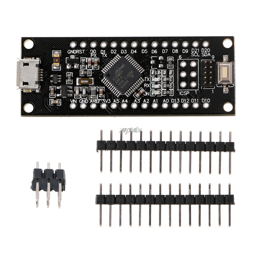 SAMD21 M0-Mini 32-bit ARM Cortex M0 Core Compatible For Zero Form Mini Z10 Drop Ship