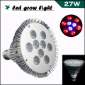 27W LED Lamps for Plants LED Grow Light E27 6Red:3Blue LED Grow Lamps/Bulbs/Tube for Hydroponics Plant Grow box/Tent, AC85-265