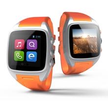 X01 3G WIFI bluetooth barato reloj inteligente tarjeta sim MTK 6572 de Doble núcleo Android 4.4 Relogio electrónica Bluetooth GPS Smartwatch