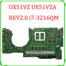 For UX51VZ UX51VZA laptop motherboard REV 2.0 mianboard with i7-3612QM SR0MR cpu tested ok & working perfect