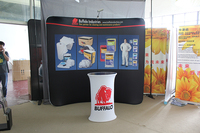 Pop Up Display Fabric wall backdrop Promotion Table with printing, 3*4 free shipping to USA, Australia, New Zealand, Canada