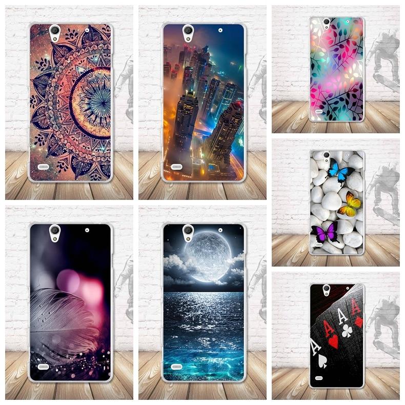Soft TPU Silicone Case For Sony Xperia C4 E5303 E5306 E5353 Fashion Luxury Clear Back Cover For Sony Xperia C4 Phone Case Funda