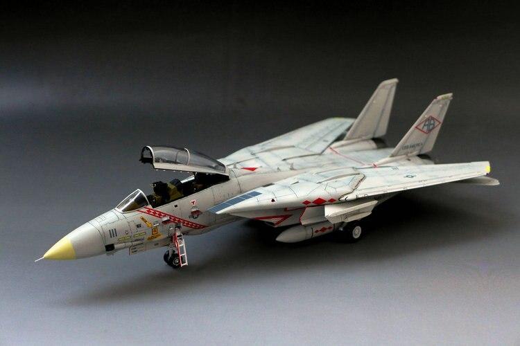 U.S.A F-14A Tomcat aircraft 1/72 Assembly model Toys u s a f 14a tomcat aircraft 1 72 assembly model toys
