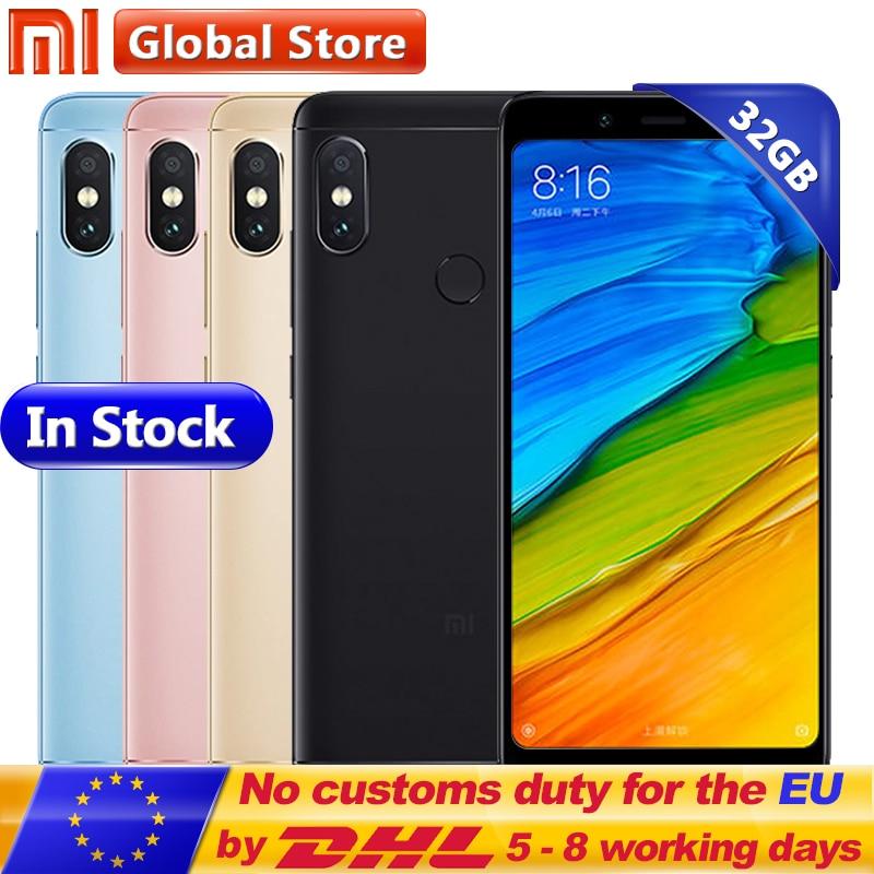 Original Xiaomi Redmi Note 5 3GB 32GB Mobile Phone Snapdragon S636 Octa Core MIUI9 5 99