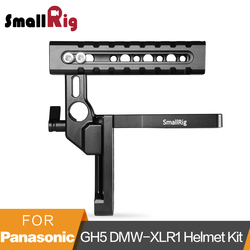 SmallRig Cage Top Handle for Panasonic Lumix GH5 DMW-XLR1 With Arri Locating Holes Cold Shoe Mount Helmet Handle Kit  - 2017