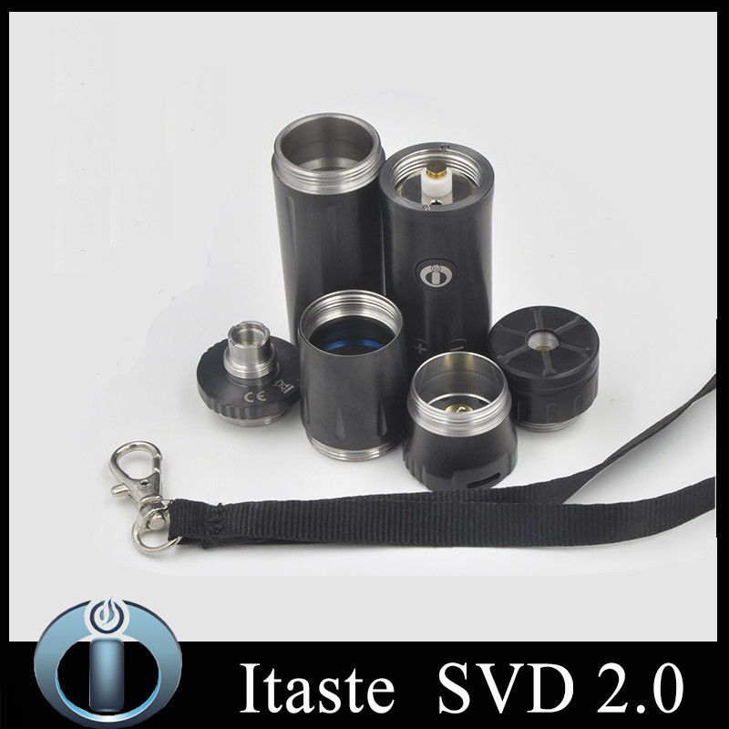 6 100% Authentic Innokin Itaste SVD 2.0 NEW SVD Mod 18650 Original Innokin Mechanical Mods innokin itaste SVD Electronic Cigarette