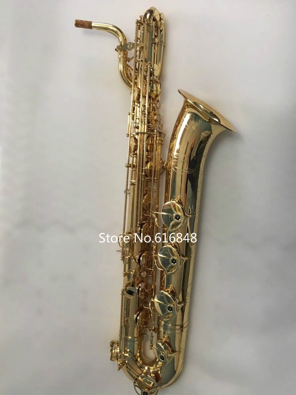 2018 New YANAGISAWA B-901 High Quality Instruments Baritone Saxophone Brass Gold Plated Surface Sax With Case Accessories free shipping new high quality tenor saxophone france r54 b flat black gold nickel professional musical instruments