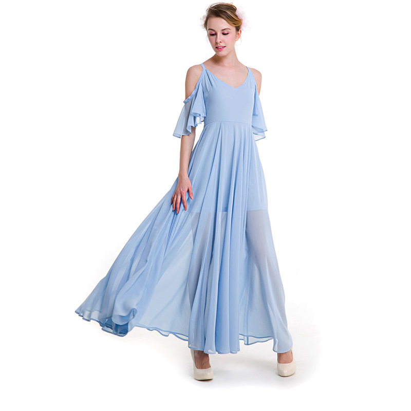 64b9e54814ae3 Women Summer Fashion Chiffon Slip Dress Transparent With Striped ...