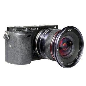 Image 3 - Meike lente de cámara gran angular F2.8 de 12mm lente fija de enfoque Manual de APS C para cámara Canon, EF M, Fujifilm, Sony, Nikon, 1 M4/3
