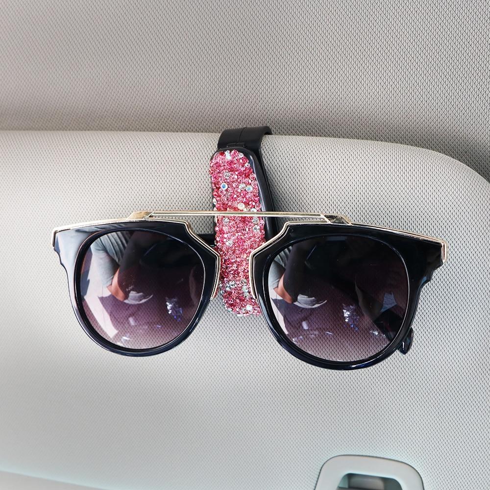 da4693047b3 YOSOLO Sun Visor Sunglasses Eyeglasses Holder Glasses Cases ...