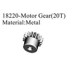 Rc автомобиль Pro. Запасные части Металл редукторный двигатель (20 т) для HSP 1/16 Багги 94185PRO, 94186PRO (№ 18220)