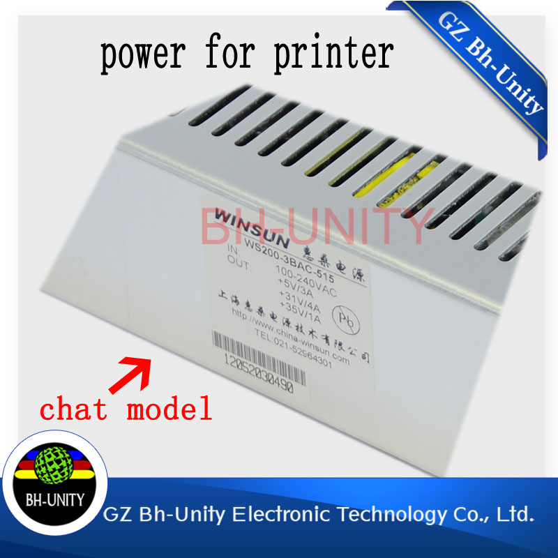 Best quality!!! Large format spare parts power supply of JHF Lepard versacamm inkjet printer roland versacamm sp 540i
