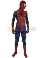 2016 New Raimi Spider Man Costume 3D Printed Kids Adult Lycra Spandex Fullbody Spiderman For Halloween
