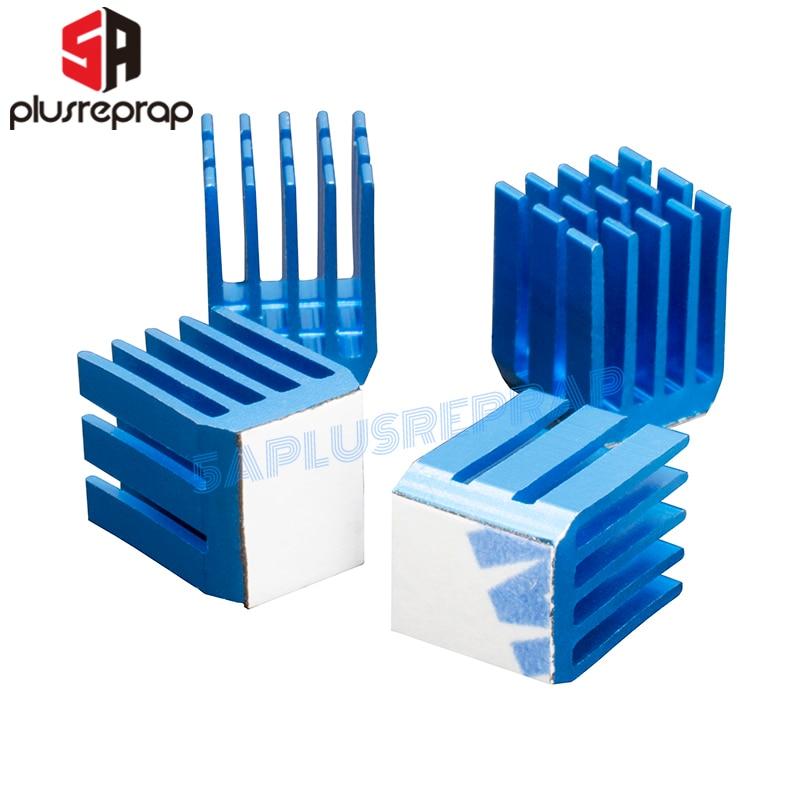 3D Printer Parts Stepper Motor Driver Heatsink Cooling Heatsink Compatible With TMC2100 DRV8825 A4988