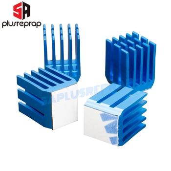 цена на 3D Printer Parts Stepper Motor Driver Heatsink Cooling Heatsink Compatible with TMC2100 DRV8825 A4988