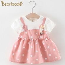 Bear Leader Baby Dresses 2019 Summer Girls Cotton Children D