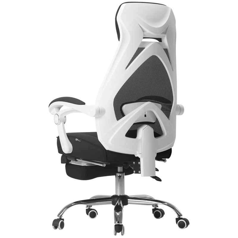 Ergonomics Computer Chair Household Office Boss Chair Modern Rotary Lacework Seat Comfortable Conference Silla Lunch Break Bed