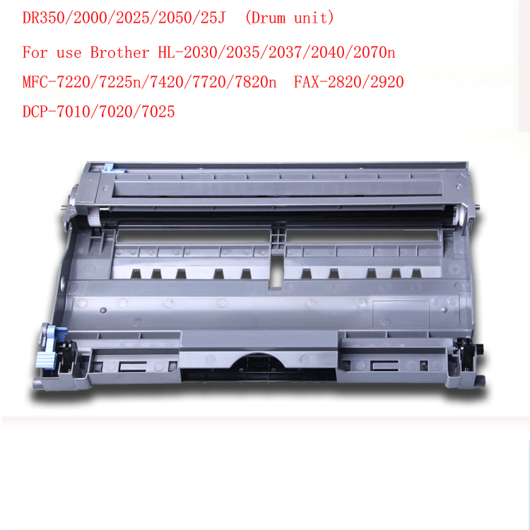 цена на DR-350 /DR350/2000/2025/2050/25J drum unit  drum kit  for Brother HL-2030/2035/2037/2040/2070n  MFC-7220/7225n/7420/7720 printer